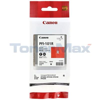CANON PFI-101R INK TANK RED 130ML